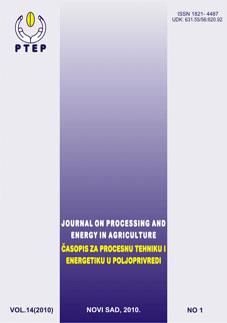 Journal on Processing and Energy in Agriculture